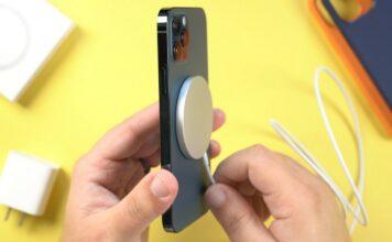 Recharge sans fil iphone